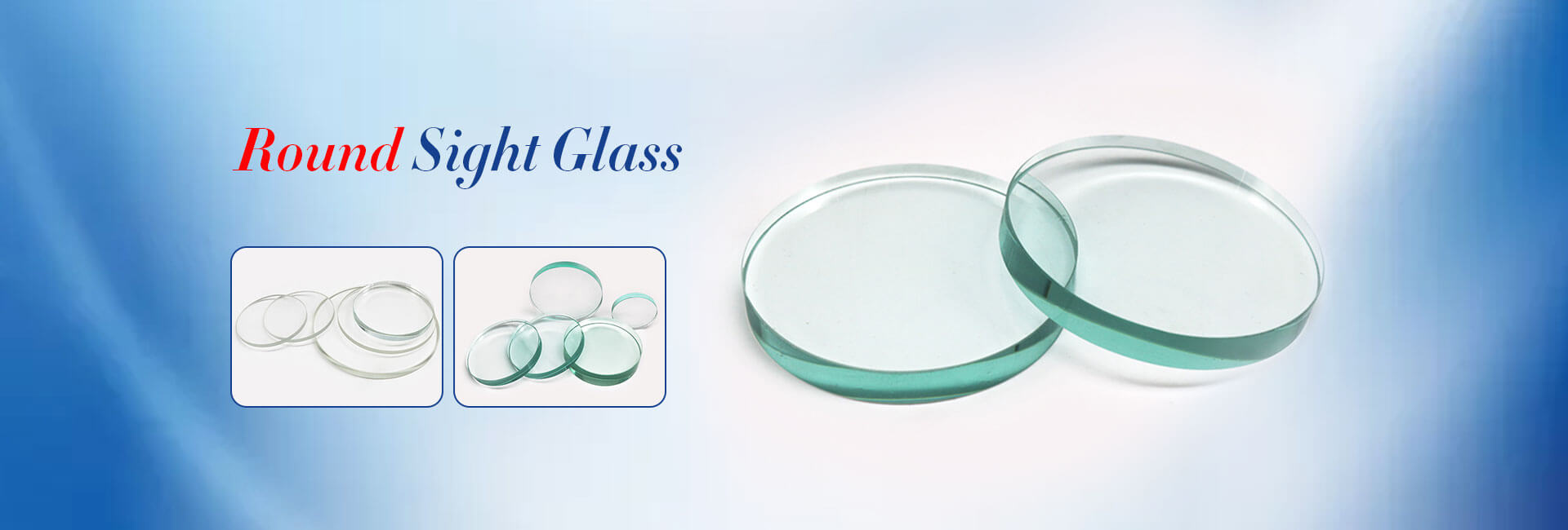 Round Sight Glass
