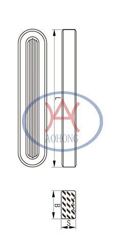 Dimensions of Reflex Gauge Glass